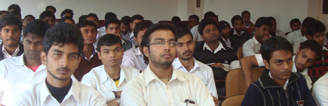 Students at seminar